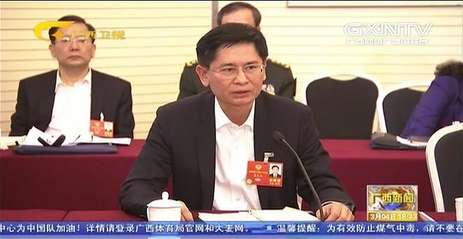 【直通现场】住桂委员审议常委会工作报告和提案工作情况报告