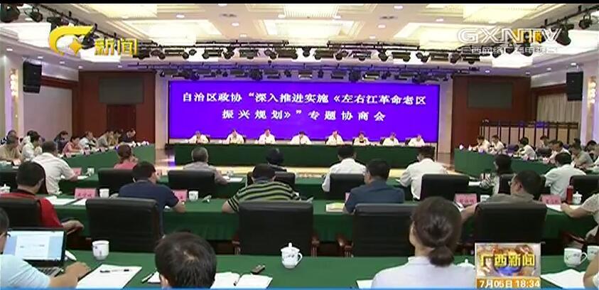 自治区政协召开专题协商会 蓝天立出席并讲话